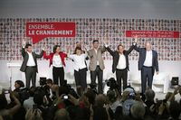 Primaire Valls ROyal Aubry Montebourg Hollande Baylet