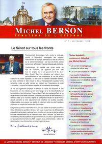 Lettre de Michel Berson, n°7 - 1